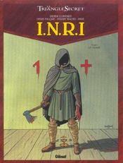Le triangle secret - I.N.R.I. t.1 ; le suaire - Intérieur - Format classique