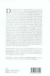 Cularo Gratianopolis Grenoble - 4ème de couverture - Format classique