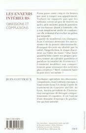Les ennemis intérieurs ; obsessions et compulsions - 4ème de couverture - Format classique