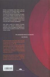 Couleurs sixties - 4ème de couverture - Format classique