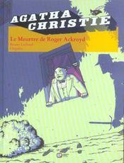 Agatha Christie t.8 ; le meurtre de Roger Ackroyd - Intérieur - Format classique