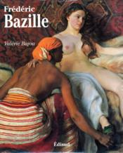 Frederic Bazille 1841-1870 - Couverture - Format classique