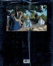 Frederic Bazille 1841-1870 - 4ème de couverture - Format classique