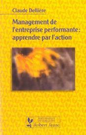Management de l'entreprise performante : apprendre par l'action - Intérieur - Format classique