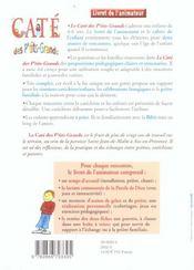 Le Cate Des P'Tits-Grands/Animateur - Deux Annees D'Eveil A La Foi - 4ème de couverture - Format classique