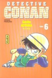 Détective Conan t.6 - Couverture - Format classique