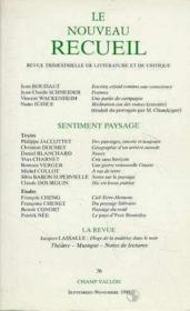 Nouveau Recueil N.36 - Couverture - Format classique