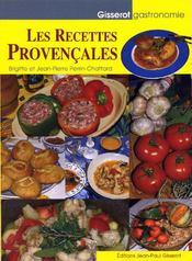 Les recettes provençales - Couverture - Format classique