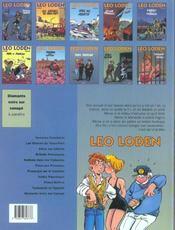 Léo Loden t.9 ; chaud beffroi - 4ème de couverture - Format classique
