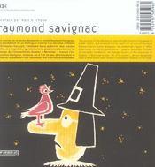 Raymond Savignac, graphiste affichiste - 4ème de couverture - Format classique