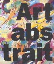 Coffret Art Abstrait ; Iconographie Des Origines - 4ème de couverture - Format classique