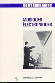 Musique Electroniques - Couverture - Format classique