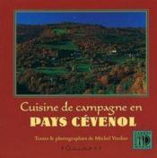 Cuisine De Campagne En Pays Cevenol - Couverture - Format classique