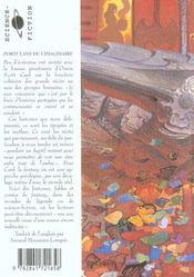 Portulans De L'Imaginaire T.3 ; Sonates Frelatees ; Fables Et Fantaisies - 4ème de couverture - Format classique