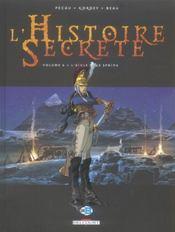 L'histoire secrète t.6 ; l'aigle et le sphinx - Intérieur - Format classique