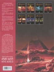 L'histoire secrète t.6 ; l'aigle et le sphinx - 4ème de couverture - Format classique