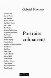 Portraits Colmariens - Couverture - Format classique