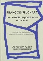 Francois Pluchart ; Une Anthologie - Intérieur - Format classique