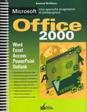 Microsoft Office 2000 - Intérieur - Format classique