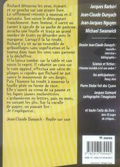 Revue Bifrost N.47 ; Jean-Claude Dunyach - 4ème de couverture - Format classique