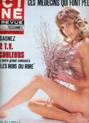 CINE REVUE - TELE-PROGRAMMES - 52E ANNEE - N° 41 - LES CAIDS, une histoire d'amour ches les truands ... - Couverture - Format classique
