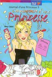 Journal D'Une Princesse – Tome 5 – L'Anniversaire D'Une Princesse – Cabot-M – ACHETER OCCASION – 03/03/2004
