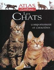 Atlas nature ; les chats - Intérieur - Format classique
