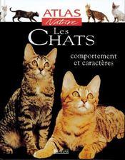 Atlas nature ; les chats - Couverture - Format classique