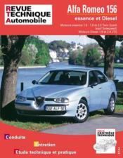 Rta 627.1 Alfa Romeo 156 Essence Et Diesel - Couverture - Format classique