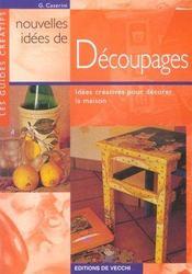 Nouvelles Idees De Decoupages - Intérieur - Format classique