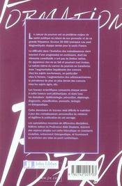 Cancers broncho-pulmonaires, mise au point - 4ème de couverture - Format classique
