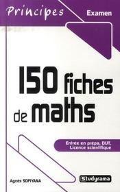 150 fiches de maths (3e édition) - Intérieur - Format classique