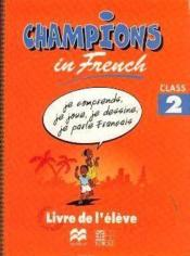 Champions in french class 2 (cameroun) - Couverture - Format classique