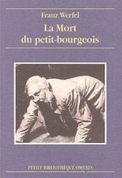 La mort du petit-bourgeois - Couverture - Format classique