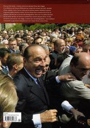 Chirac, pile et face - 4ème de couverture - Format classique