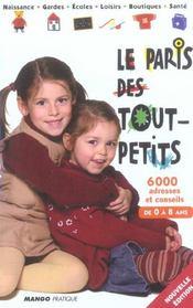Le Paris Des Tout-Petits (édition 2005) - Intérieur - Format classique