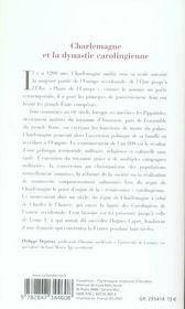 Charlemagne - 4ème de couverture - Format classique