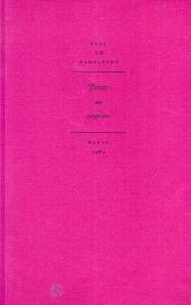 Penser au singulier. etude nzakara - Couverture - Format classique