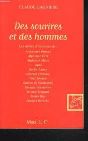 Des Sourires Et Des Hommes - Couverture - Format classique
