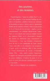 Des Sourires Et Des Hommes - 4ème de couverture - Format classique