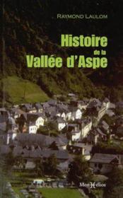 Histoire de la vallee d'aspe - Couverture - Format classique