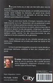 Jamel De L'Autre Cote Du Miroir - 4ème de couverture - Format classique