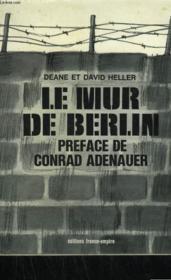 Le Mur De Berlin. - Couverture - Format classique