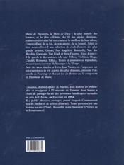 Visages de Marie dans la littérature et la peinture - 4ème de couverture - Format classique