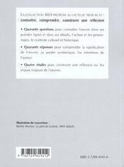 Maupassant Une Vie - 4ème de couverture - Format classique