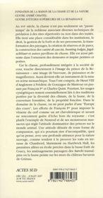 Chasses Princieres Dans L'Europe De La Renaissance - 4ème de couverture - Format classique
