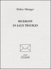 Beckmann en eaux troubles - Couverture - Format classique