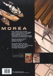 Moréa t.2 ; l'échine du dragon - 4ème de couverture - Format classique