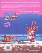 Ibiza club t.2 ; garcons jetables - 4ème de couverture - Format classique