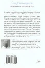 Evangile De La Compassion - 4ème de couverture - Format classique
